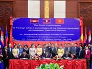 Comisiones parlamentarias de Camboya, Laos y Vietnam impulsan iniciativas de desarrollo