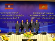 Vietnam y Laos fortalecen cooperación en trabajo y seguridad social