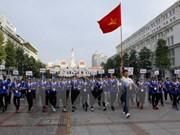 Seguidores vietnamitas acompañan a deportistas nacionales en SEA Games 29
