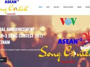 Cantantes de ASEAN participarán en concurso en Vietnam