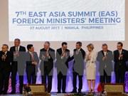 Efectúan reuniones de cancilleres de ASEAN+3 y de países de Cumbre de Asia Oriental