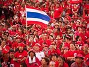 """Tailandia: canal televisivo del grupo político """"Camisas Rojas"""" obligado a suspender su operación"""