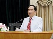 Frentes de Vietnam y Laos buscan intensificar nexos bilaterales