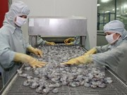 Exportaciones vietnamitas de camarón a China crecen 30 por ciento