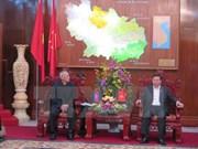 Delegación del Partido Popular de Camboya visita Bac Ninh