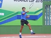 Ly Hoang Nam se mantiene como mejor tenista del Sudeste Asiático