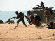 Tailandia y Estados Unidos realizan ejercicio militar conjunto