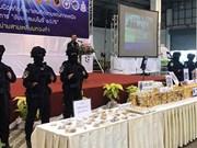 Tailandia incauta cuatro millones de píldoras de metanfetamina