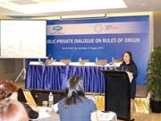 Reglas de origen ayudan a APEC a prepararse ante Área de Libre Comercio Asia-Pacífico