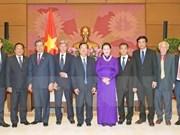 Presidenta parlamentaria resalta aportes de Comités de Paz a nexos Vietnam-Laos