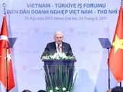 Premier turco concluye visita oficial a Vietnam