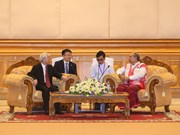 Cooperación interparlamentaria, pilar de relaciones políticas Vietnam-Myanmar