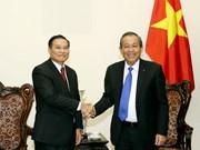 Destacan cooperación Vietnam-Laos en asuntos religiosos