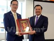 Ministro vietnamita pide mayor desempeño de FPT Japón