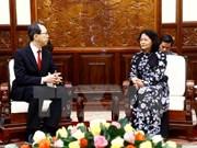 Vicepresidenta llama a inversiones japonesas en Vietnam