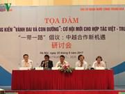 """""""La Franja y la Ruta"""",  nueva oportunidad para cooperación Vietnam-China"""