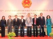 Vietnamitas en el extranjero celebran el Día Nacional de Independencia