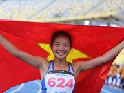 Corredora vietnamita continúa su buena racha con segundo oro en SEA Games 29