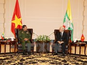 Dirigente partidista vietnamita resalta cooperación con Myanmar en defensa