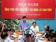 Vicepremier vietnamita orienta labores de prevención de inundaciones