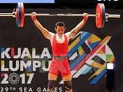 SEA Games 29: Vietnam gana medalla de oro en levantamiento de pesas