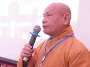 Destacan importante papel de comunidad religiosa vietnamita en actividades sociales