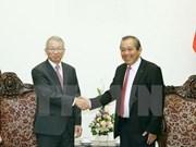 Vicepremier de Vietnam resalta lazos con Sudcorea en esfera judicial