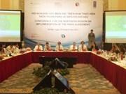 Región norteña de Vietnam se prepara para implementar Acuerdo de París