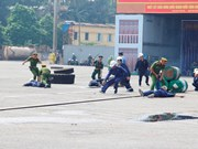 Vietnam realiza simulacro contra terrorismo para garantizar seguridad de APEC 2017