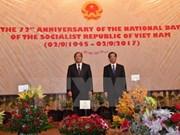 Efectúan numerosas actividades en saludo al Día Nacional de Vietnam