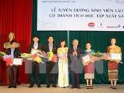 Vietnam y Laos impulsan cooperación en educación