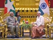Premier de India visita Myanmar