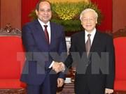 Visita del presidente egipcio iniciará nueva etapa para relaciones con Vietnam