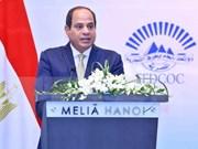 Vietnam y Egipto buscan elevar intercambio comercial