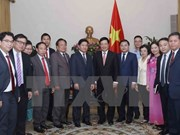 Vicepremier de Vietnam aboga por impulso de intercambio juvenil con Laos