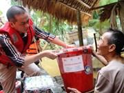 Reconocen ayuda humanitaria de Cruz Roja Noruega a Vietnam