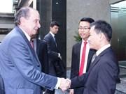 Vietnam y Brasil fortalecen vínculos de amistad
