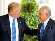 Donald Trump destaca esfuerzos de Malasia en lucha antiterrorista