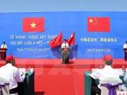 Quang Ninh pone en servicio puente entre Vietnam y China