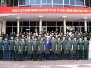 Premier vietnamita insta a Academia de Defensa a reformar programa de capacitación