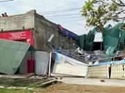 Ocho muertos en Vietnam por el tifón Doksuri
