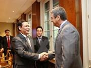Vietnam promueve cooperación con OMC