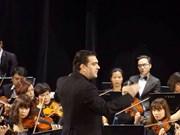 """Compositor español David Gómez Ramírez dirige concierto """"Noche de Beethoven"""" en Vietnam"""