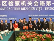 Provincias fronterizas de Vietnam y China fomentan cooperación entre fiscalías
