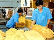 Exportaciones de caucho de Vietnam crecieron en primeros ocho meses de 2017