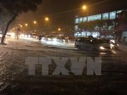 Dirigentes de Frente de la Patria de Vietnam instruyen  trabajos de recuperación tras tifón Doksuri