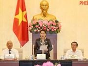 Comité Permanente del Parlamento vietnamita concluye su XIV reunión