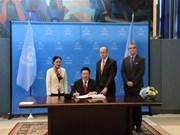 Vietnam firma Tratado sobre Prohibición de las Armas Nucleares