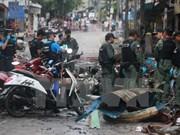 Tailandia: atentados con bomba contra vehículos del ejército
