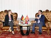 Vietnam solicita asistencia de Alemania en mejoramiento de adaptación al cambio climático